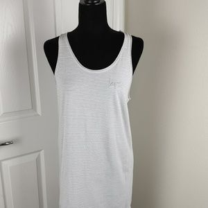 Victoria Secret Striped Racerback Sleep Shirt Med